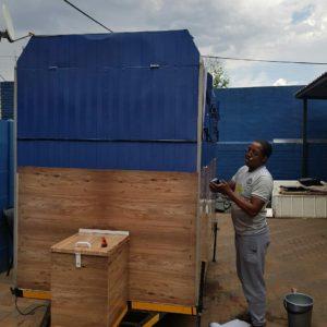 Mzansi Business Intelligence - Eat Me Trailer Vinyl Installation/Application